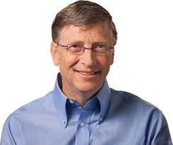 Bill Gates Headshot If You Want To Be Successful