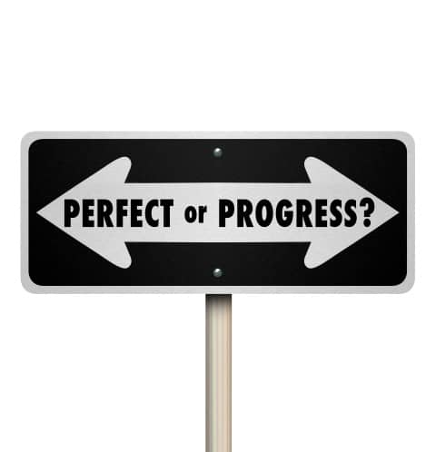 Perfect or Progress Want To Be Successful