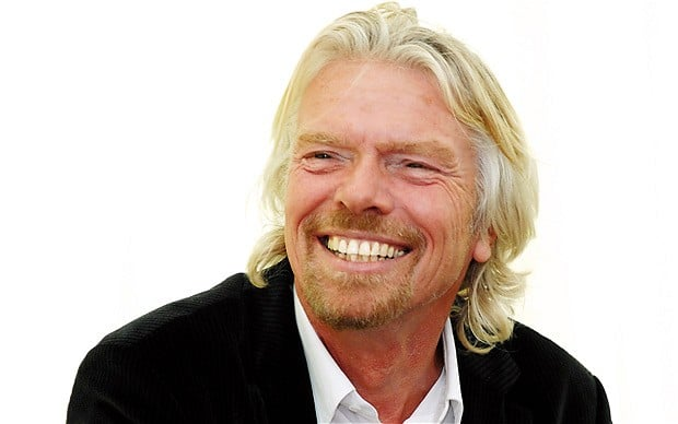 Richard Branson Rich and Successful People