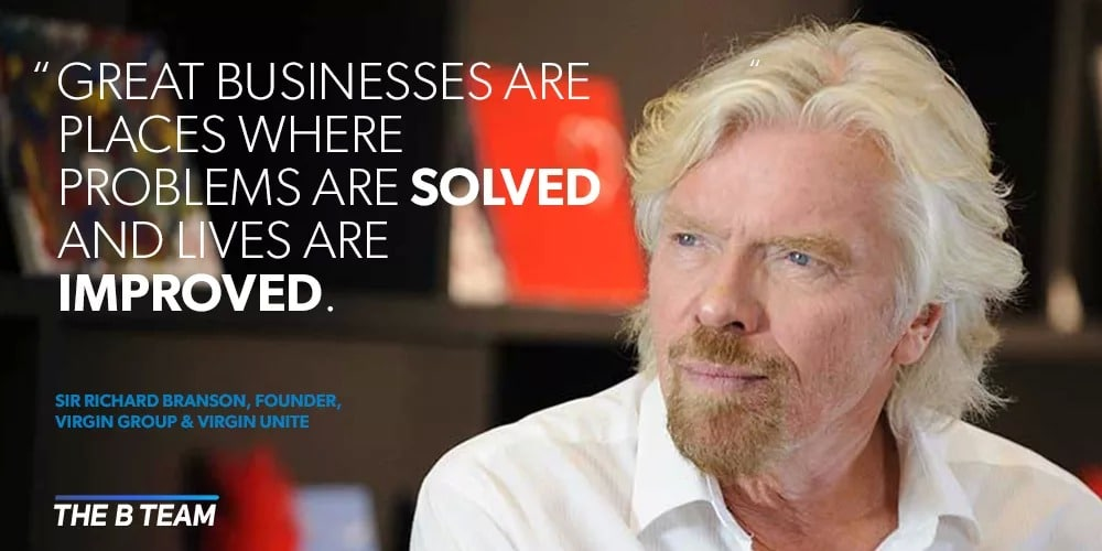 Richard Branson Solve Problems for 8 Figure Business