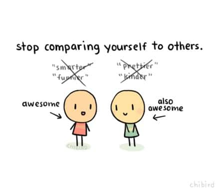 Stop Comparing Yourself If You Want To Be Successful