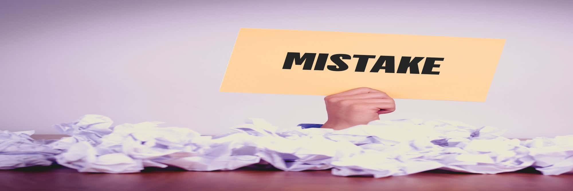 7 Stupid Mistakes Robbing You Of Enormous Success